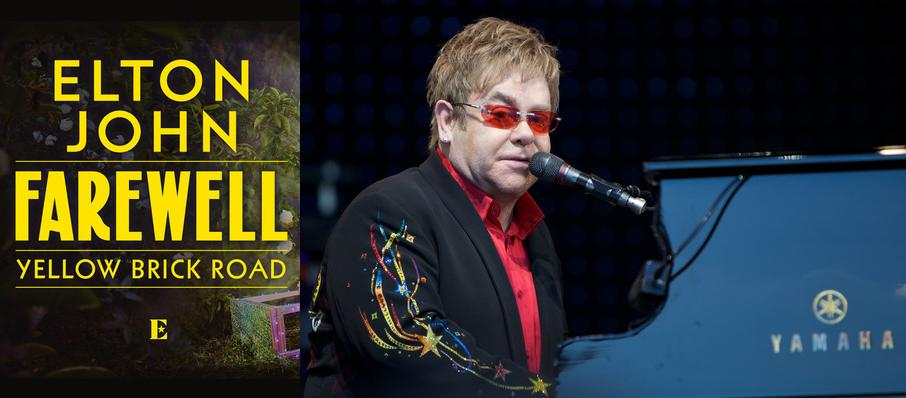 Elton John at SaskTel Centre