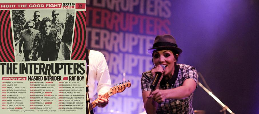 The Interrupters at Coors Event Centre